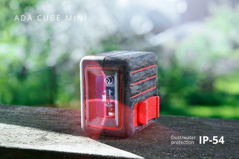 Демонстрация пылезащиты ADA CUBE MINI Basic Edition