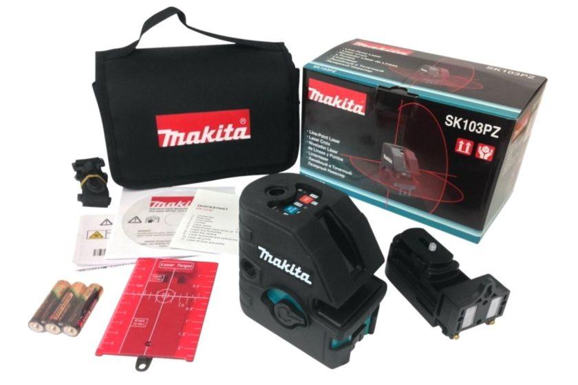 Комплект лазерного уровня Makita SK103PZ