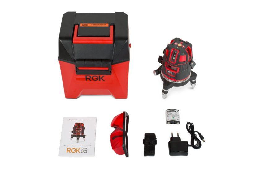 Комплект лазерного уровня RGK LP-64