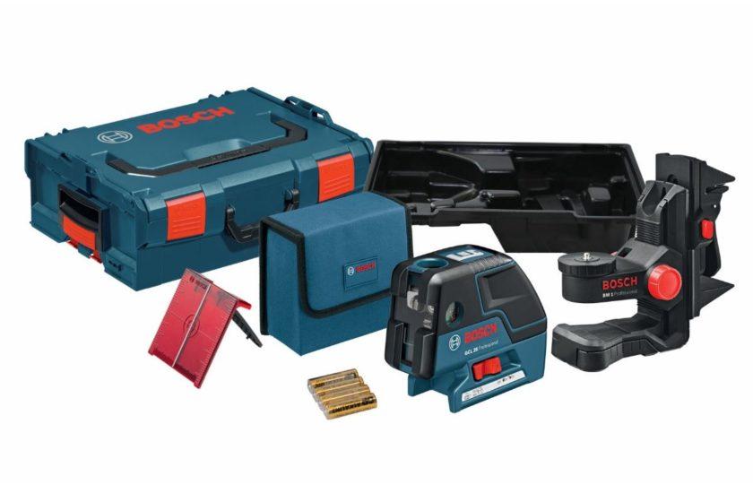 Вариант комплектации лазерного уровня Bosch GCL 25 Professional