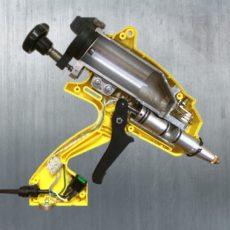 Пневматический термоклеевой пистолет СHAMP 600 в разрезе