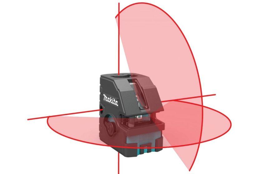 Проекции лазерного уровня Makita SK103PZ