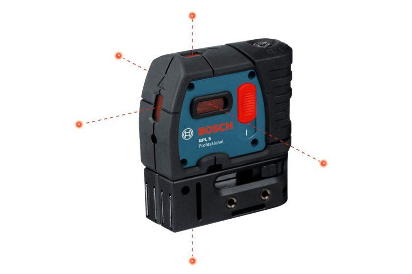 Проекции построителя лазерных точек Bosch PLL 5
