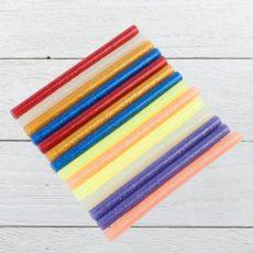 Разноцветные клеевые стержни
