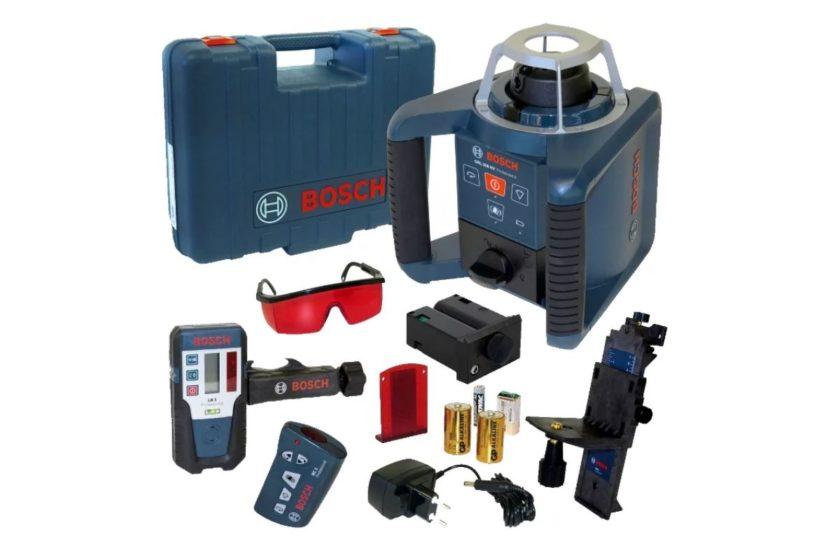 Ротационный уровень BOSCH GRL 300 HV Professional, комплектация