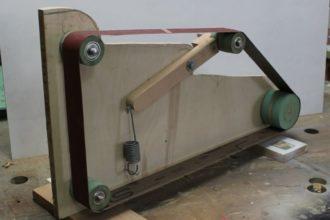 Самодельная ленточная шлифовальная машина