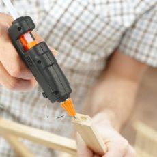 Склеивание деревянной конструкции