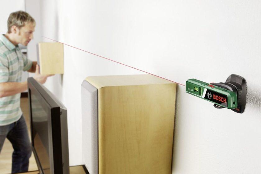 Выравнивание колонок по лазерному уровню