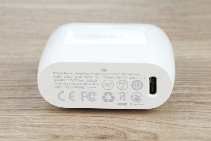 Разъем USB Type-C наушников Meizu Pop